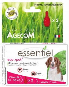 ECO SPOT | HOND 15-30 KG | 2 x pipet