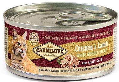 CARNILOVE CAT | Kip en Lam | 100 gram
