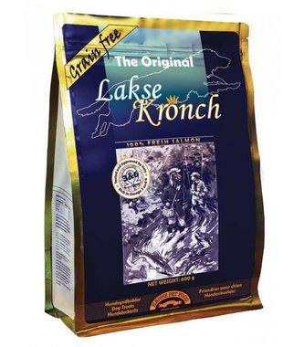HENNE KRONCH | Zalmsnacks 100% ZALM - ORIGINAL | HOND | 600 gr