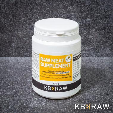 KB-EXTRA | Raw Meat Supplement MET Calcium | 500 gr