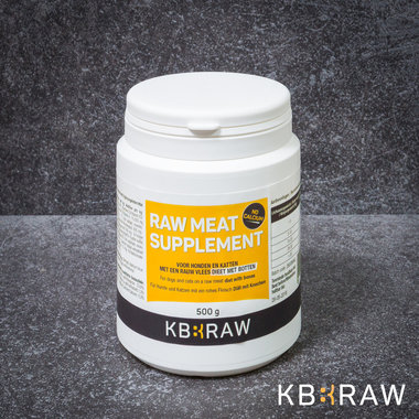 KB-EXTRA |  Raw Meat Supplement ZONDER Calcium | 500 gr