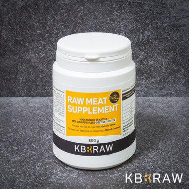 KB-EXTRA |  Raw Meat Supplement ZONDER Calcium | 500 gr