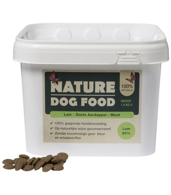 NATURE DOGFOOD | Lam & Munt | 1,4 kg