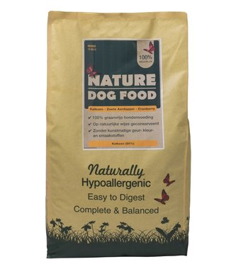 NATURE DOGFOOD | Kalkoen & Cranberry | 12 kg