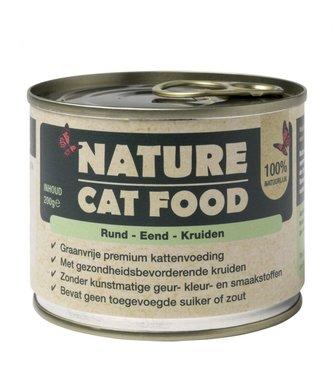 Nature Catfood | Rund, Eend en Kruiden | 200 gram