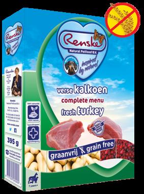 RENSKE | KALKOEN GRAANVRIJ | 395 gram
