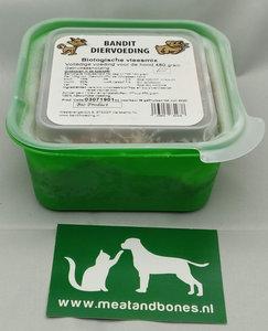 BANDIT | BIO - VLEES-MIX RUND | 480 gram