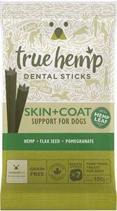 TRUE HEMP   Skin & Coat (met kip) - graanvrij   7 sticks = 100 gram