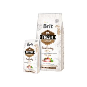 BRIT | Fresh Turkey with Pea Light Fit & Slim 12 kg