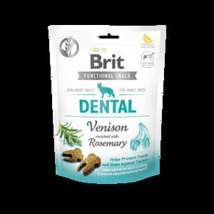 BRIT CARE | Graanvrije functional snack: Dental (hert) | 150 gram