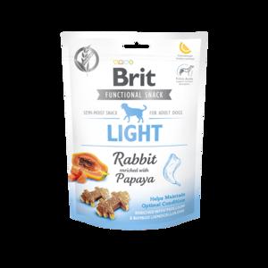 BRIT CARE   Graanvrije functional snack: Light (konijn)   150 gram