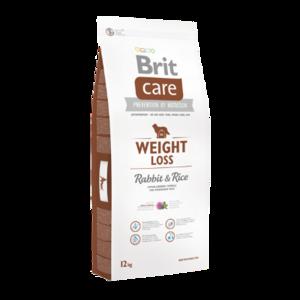 BRIT CARE | WEIGHT LOSS (Konijn/Rijst) Hypoallergeen | 12 kg