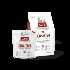 BRIT CARE | SENSITIVE (Hert/Aardappel) Hypoallergeen | 3 kg