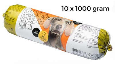 carnivoer kip mix 10 x 1000 gram