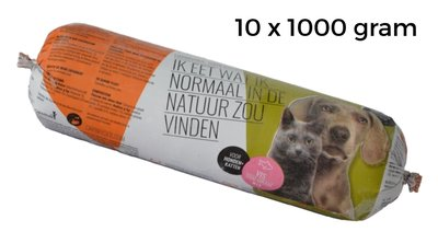 carnivoer rund 10 x 1000 gram