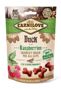CARNILOVE CAT | Crunchy Snack Eend met frambozen | 50 gram
