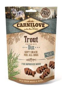 CARNILOVE DOG | Soft Snack Forel met dille | 200 gram